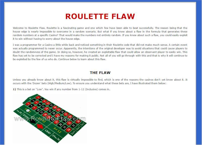 roulett system